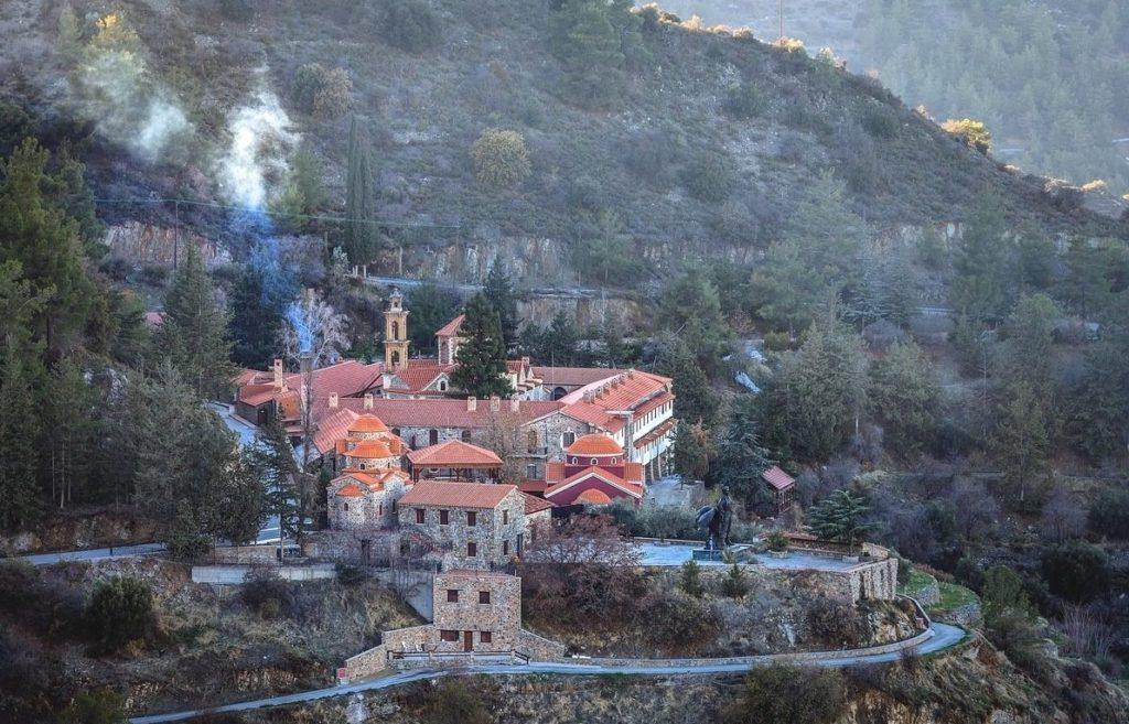 Film o cypryjskim monasterze Bogurodzicy  Machiera