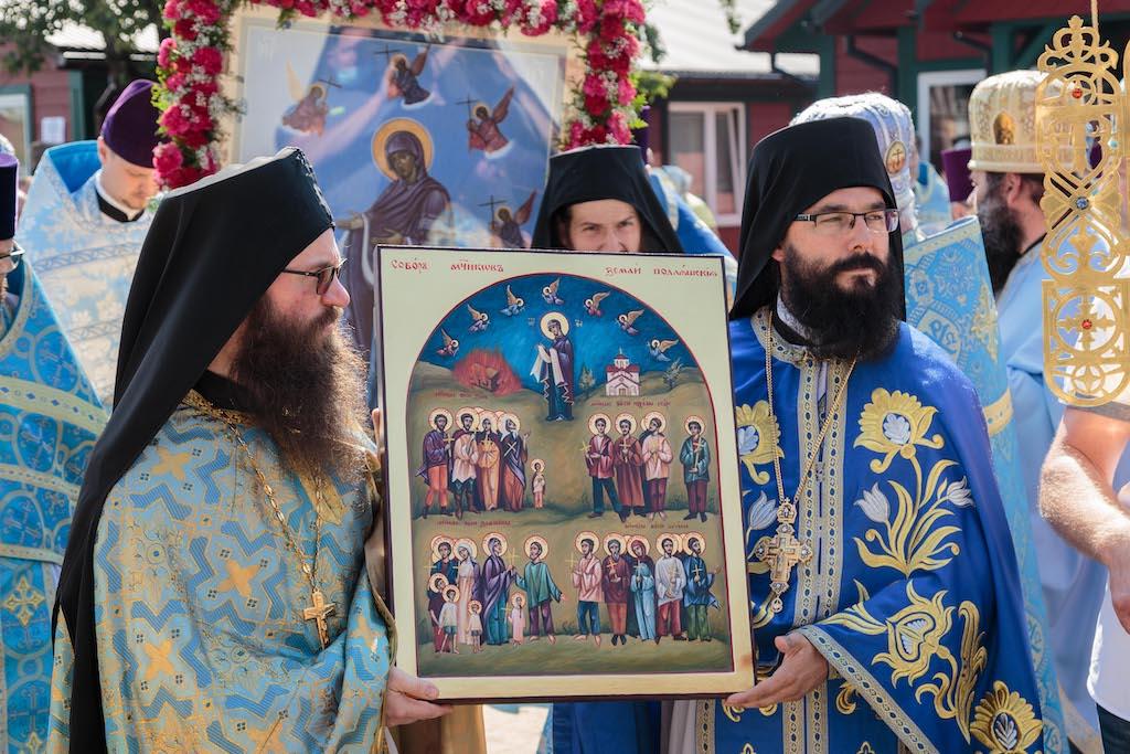 Kanonizacja Męczenników Podlaskich w dniu święta Zaleszańskiej Ikony Bogurodzicy