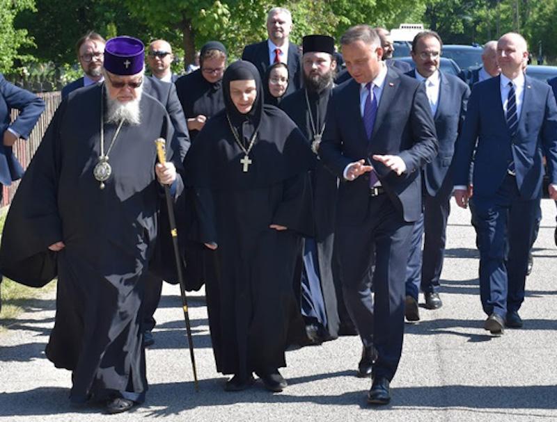 Wizyta Prezydenta w Zaleszanach
