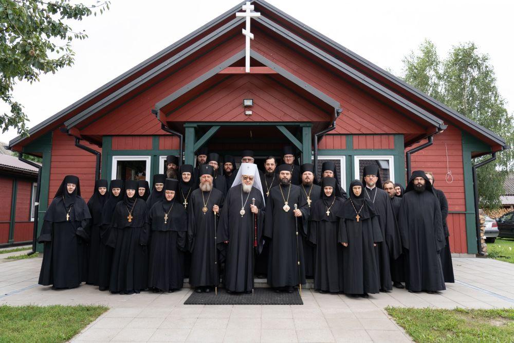 Spotkanie mnichów i mniszek w Zaleszanach