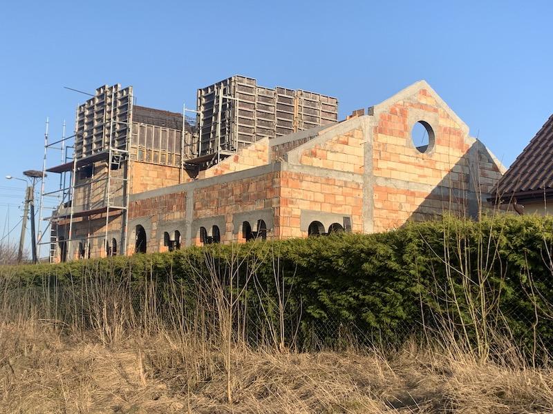 Kolejny etap budowy cerkwi w Zaleszanach